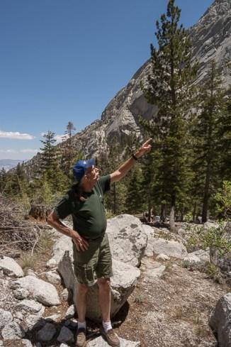 Hiking at Whitney Portal