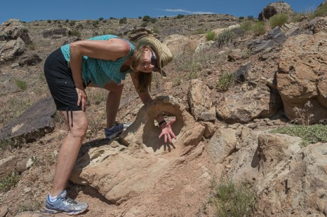 Sunny finds prehistoric jewelry on Trail Through Time