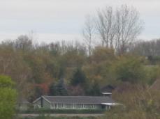 Naboens hus set med zoom