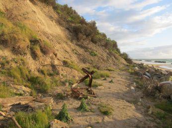 Angående kystbeskyttelse ... det er stærke kræfter, der skal beskyttes imod