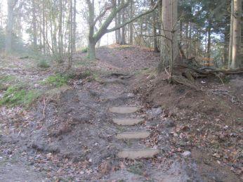 Denne trappe er tydeligere