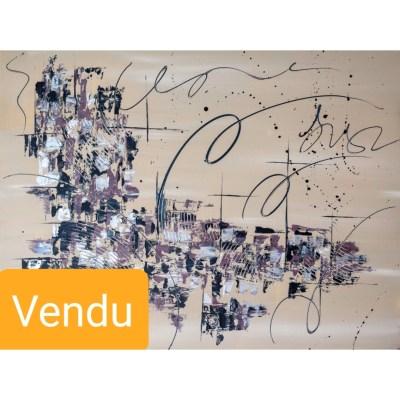 tableau abstrait artiste peintre sylvie lauvray tableau contemporain oeuvre d'art acheter de l'art en ligne