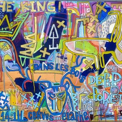art contemporain art mystique symbolisme tarek ben yakhlef drouot oeuvre côtée
