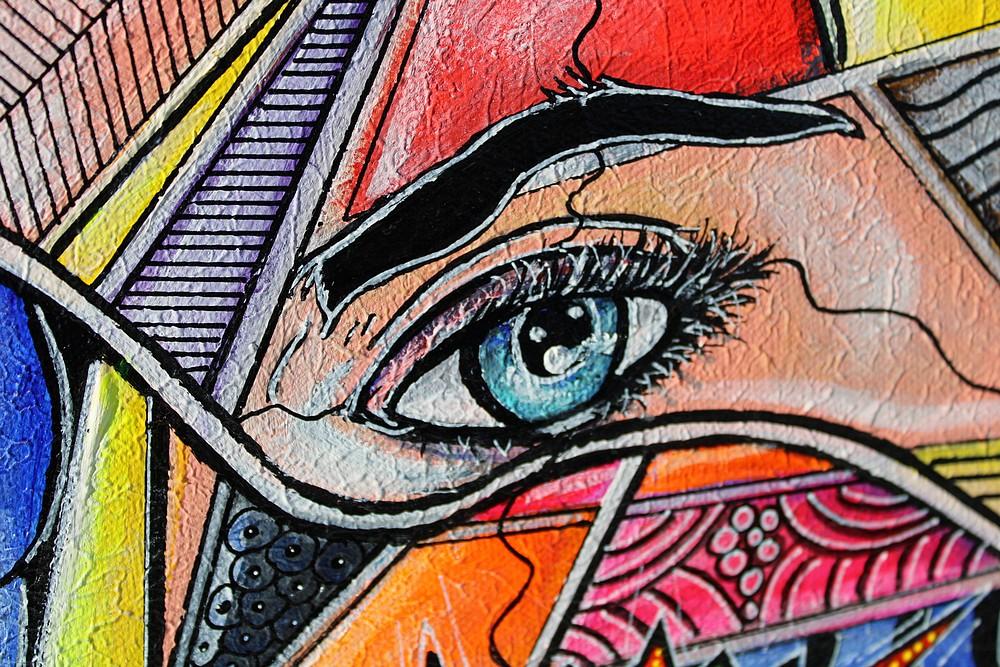 art contemporain peinture contemporaine céline lanne acheter de l'art en ligne tableau popart