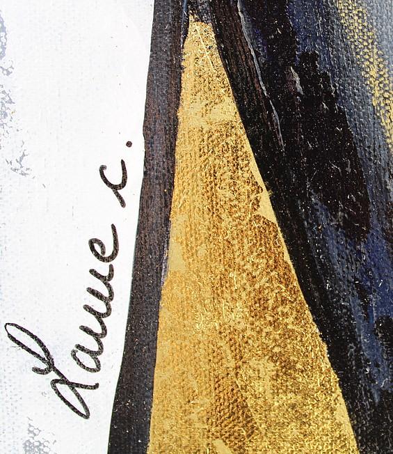 art contemporain peinture contemporaine céline lanne figures abstraites personnages abstraits