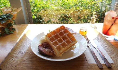 【富士市 カフェ】ワッフルが美味しいカフェ birch(バーチ)