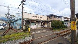 富士市 岳南電車 各駅停車と夜景列車