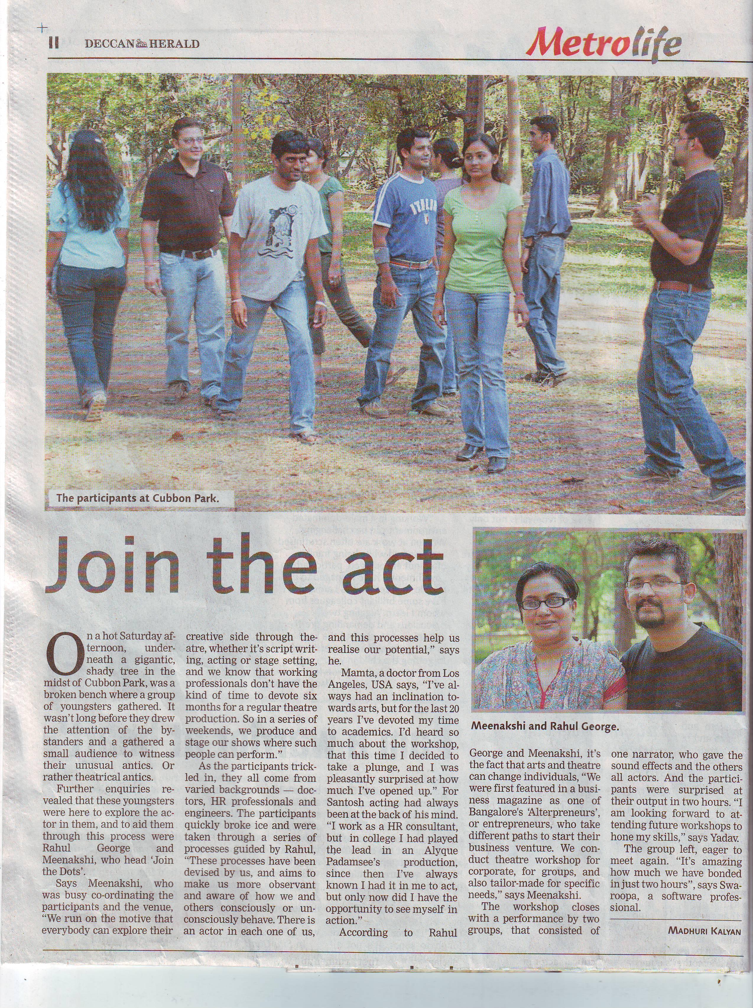 Deccan Herald 05 March 2009