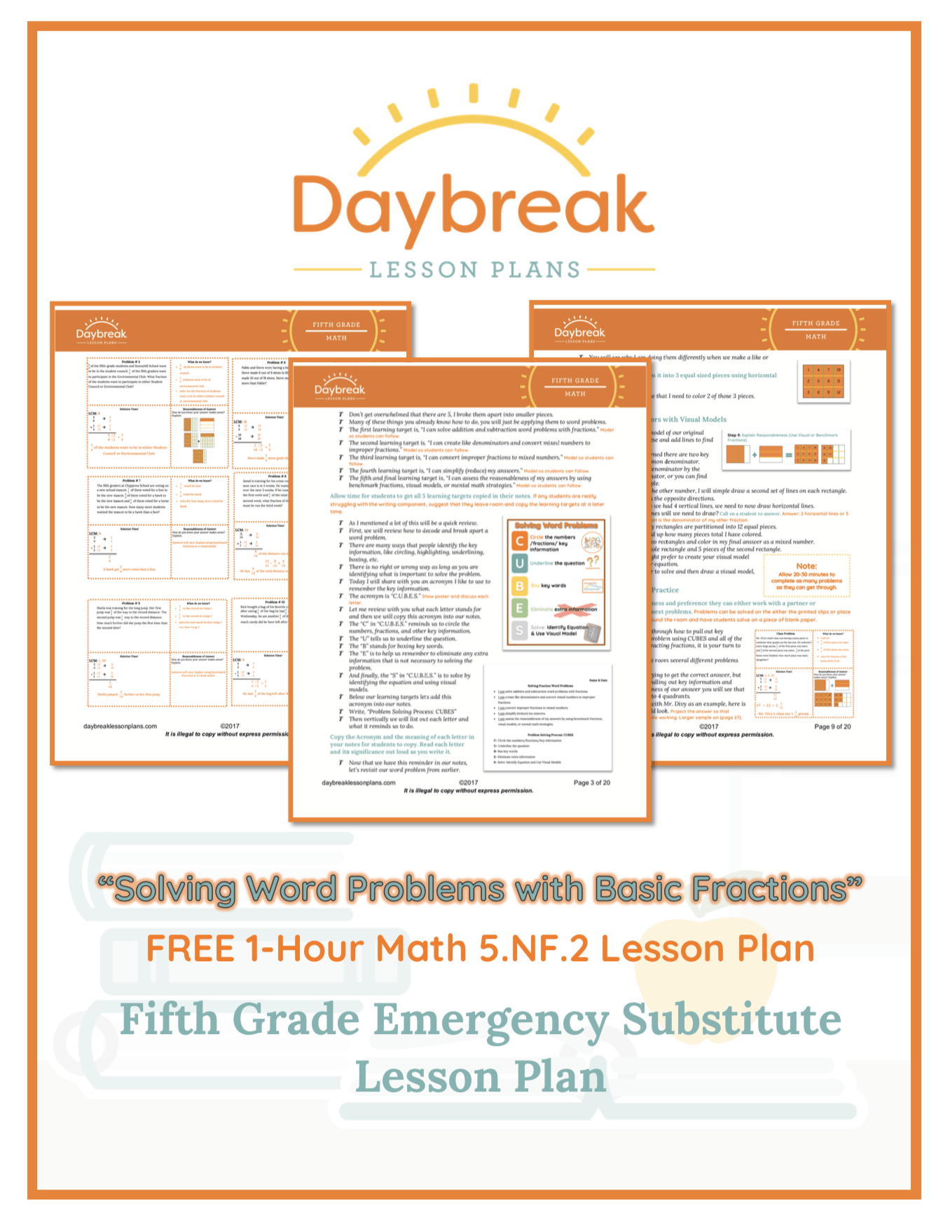 Free 5th Grade Lesson Plans