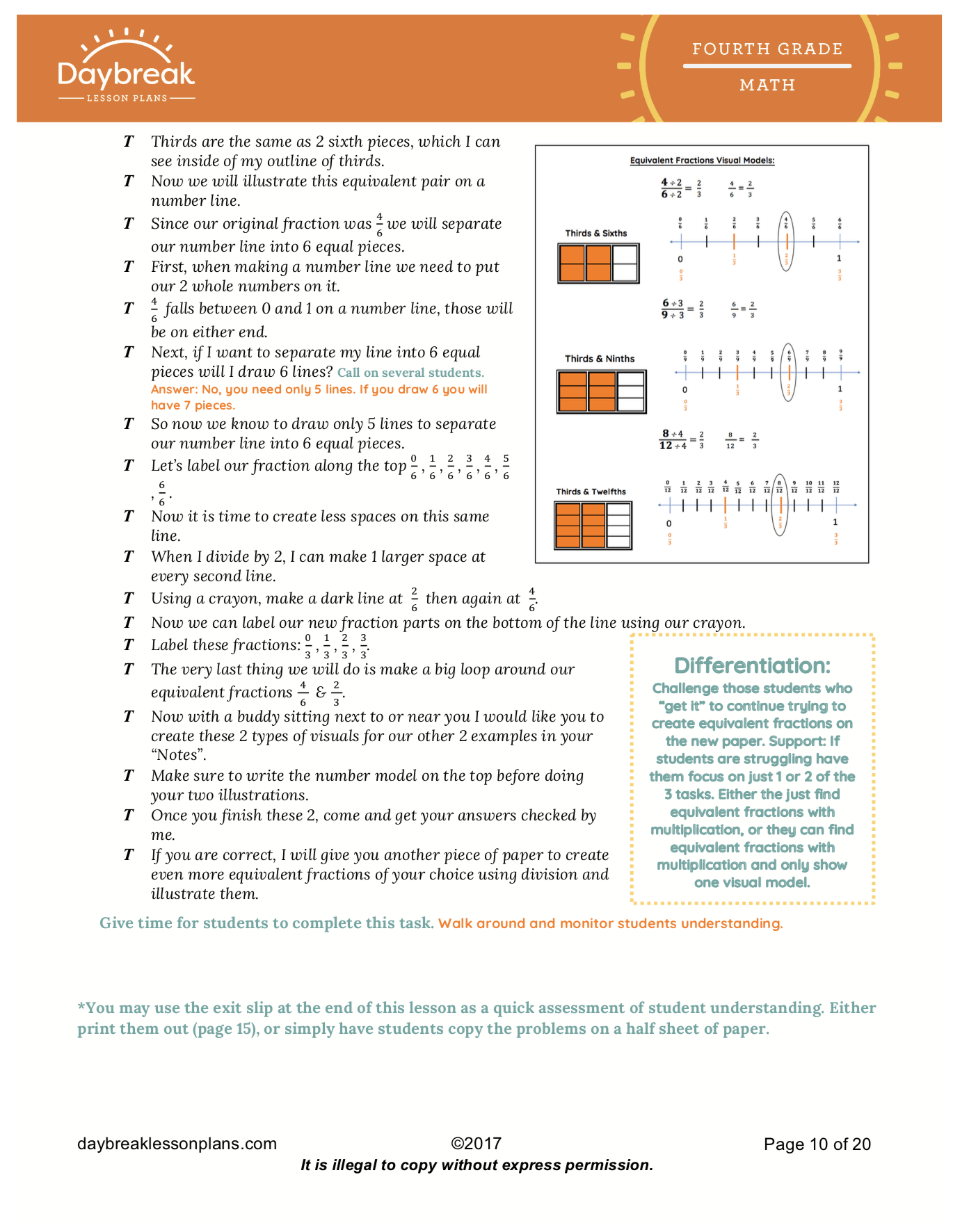 Numbers And Fractions Creating Equivalent Fractions