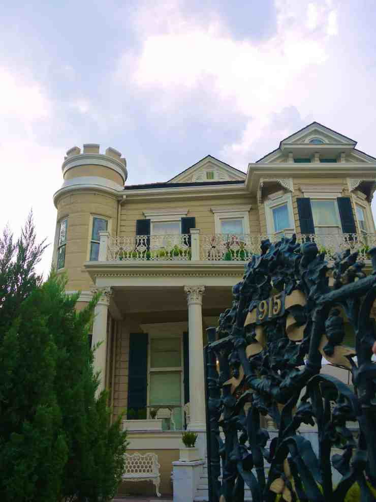 The Cornstalk Hotel in New Orleans