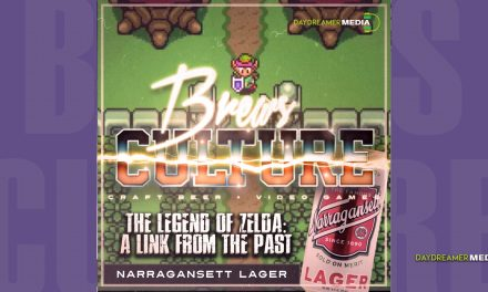 Narragansett Lager & The Legend of Zelda: A Link to the Past
