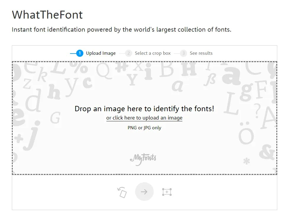 What The Font - Font Identifier
