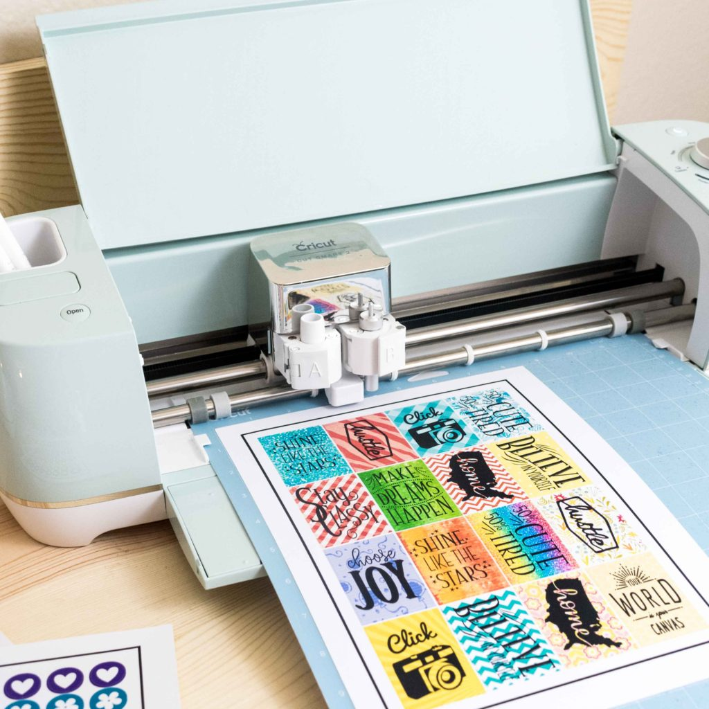 How To Make Stickers With Your Cricut Free Sticker Layout