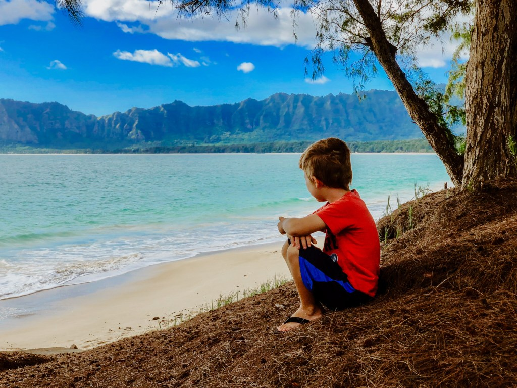 bellow Air Force base beach mountain views with kids Oahu hawaii travel family must see and do guide and tips