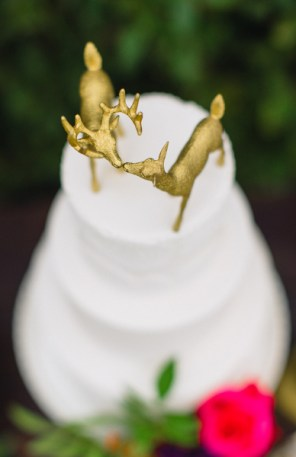 "Gold Boho Deer Cake Toppers (Approx 3.5"") $25"