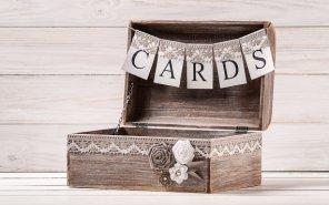 Rustic Treasure Chest & Card Bunting $55