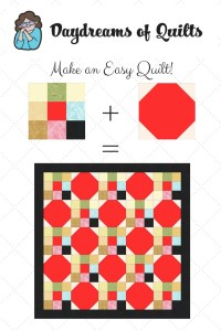easy beginner snowball and nine patch quilt tutorial