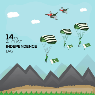 14th of August Pakistan Independence Day