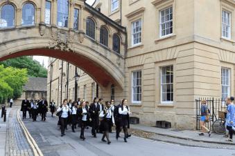 May Morning Oxford 2019