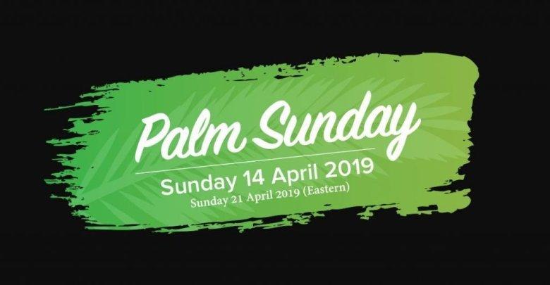 Palm Sunday 2019 Dates