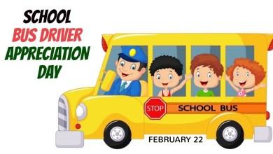 National School Bus Driver Appreciation Day