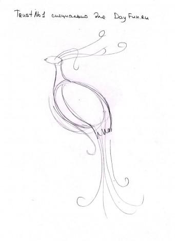 как нарисовать из руки павлина мастер класс павлин