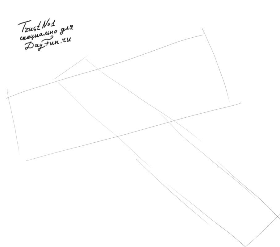 -нарисовать-нож-карандашом-поэтапно-1 Как нарисовать нож. Как нарисовать нож карандашом поэтапно