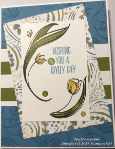 Lovely Wishes Card Stampin Up!