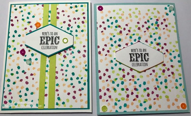 Epic Celebration Stampin Up!