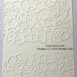 Stampin Up! Detailed Floral Thinlets Texture