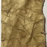 Distressed paper