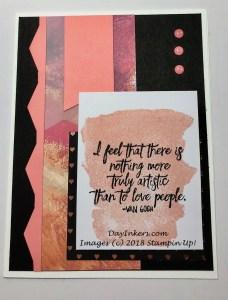 Painted with Love Heartfelt Love Notes Paper Pumpkin Alternative