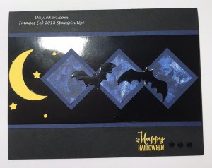 Black Foil Spooky Sweets