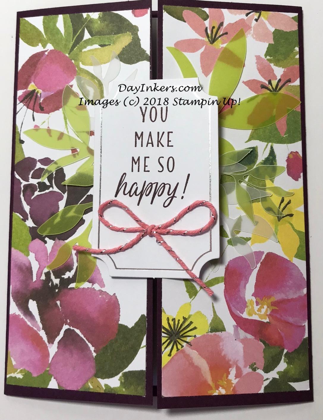 Paper Pumpkin Blissful Blooms Gatefold