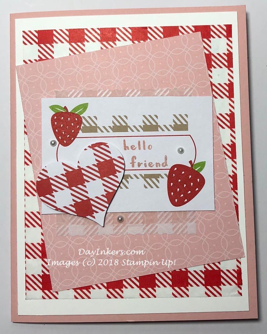 Strawberry Shortcake Picnic Paradise Paper Pumpkin