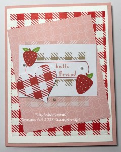 Strawberry Shortcake Picnic Paradise Paper Pumpkin