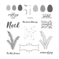 Stampin' Up! Christmas Pines stamps
