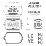 Stampin' Up! Labels to Love stamps