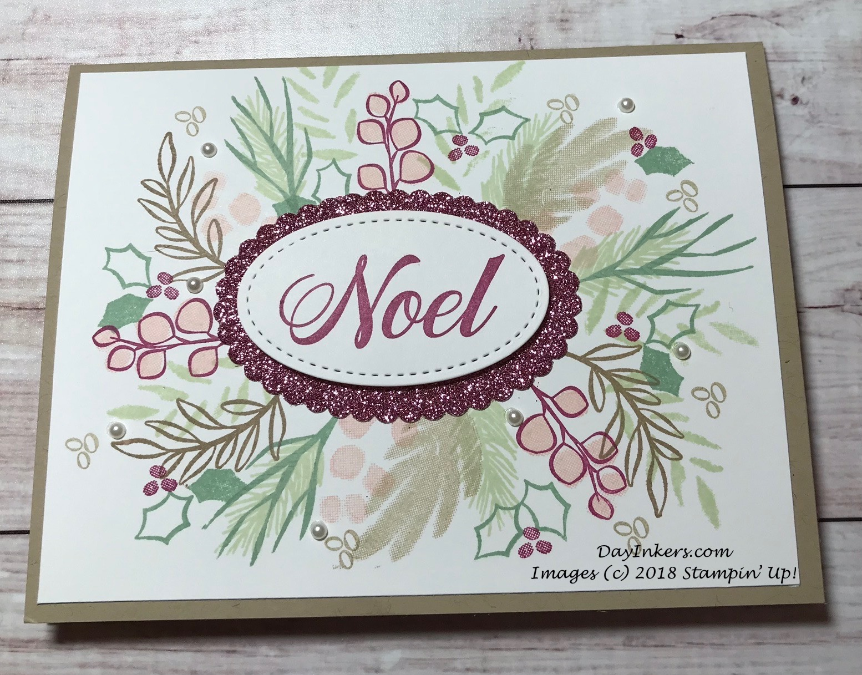 Stampin' Up! Peaceful Noel