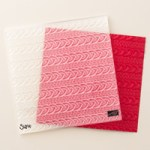 Stampin' Up! Cable Knit dynamic embossing folder