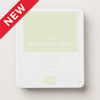Stampin Up Classic Ink Pad Soft Sea Foam