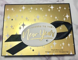 Stampin' Up! Warm Hearted New Year