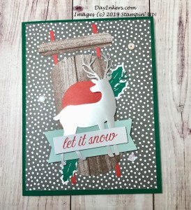 Christmas Card made with the Winter Gifts Paper Pumpkin kit.