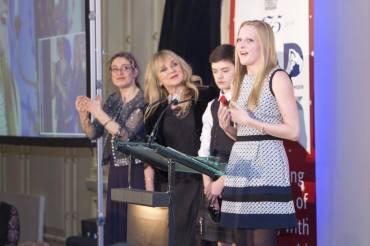 Giving my speech!