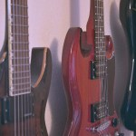 11 a.m. — Music is another way Joshua keeps himself busy during the pandemic in Glenham, S.D., on Tuesday, April 14, 2020. Pictured are, from left, his LTD ESP, Gibson SG and Fender Stratocaster.