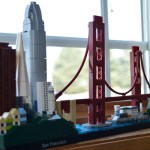 1 p.m. — Since quarantine began, Joshua has been getting into the fun of building Lego sets as a way to spending the hours. Pictured is a Lego set of the San Francisco skyline.