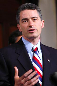 Former governor McGreevey