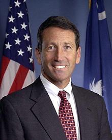 South Carolina Governor Mark Sanford