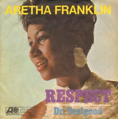Aretha Franklin, RESPECT album cover